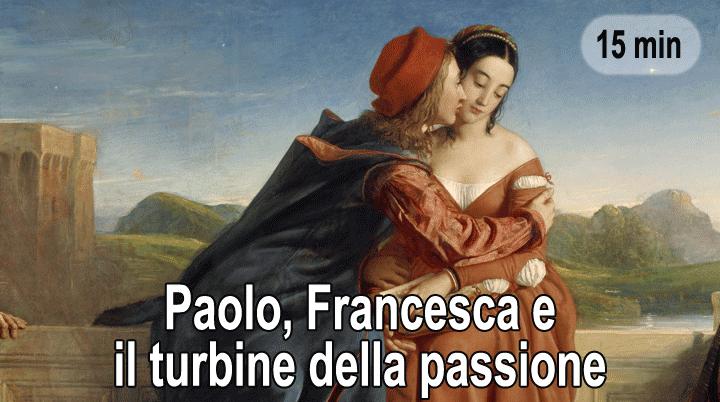 Paolo, Francesca e il turbine della passione