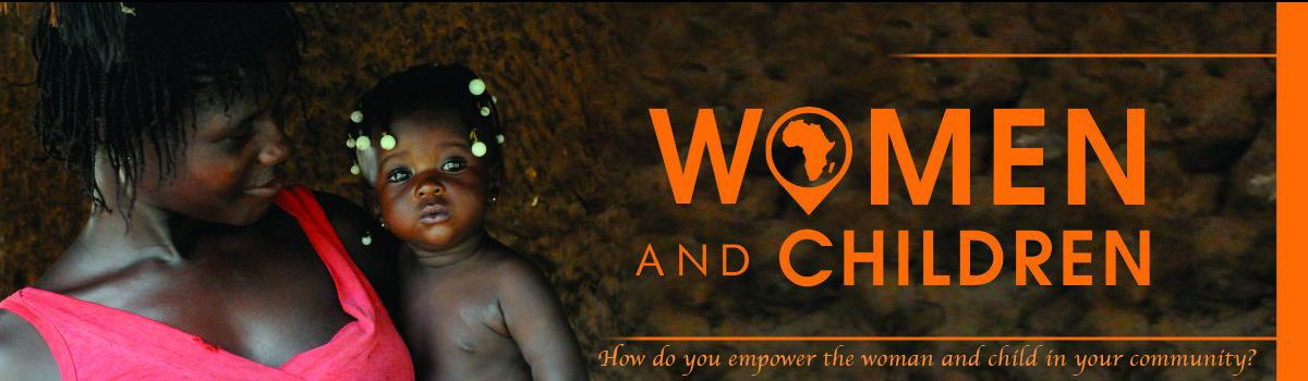 The African woman and African child