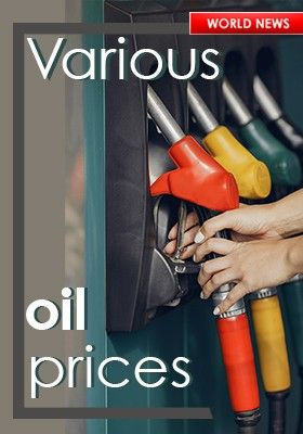 VARIOUS OIL PRICES