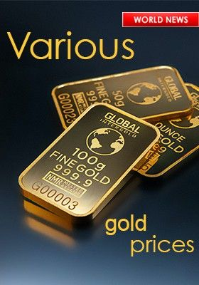 VARIOUS GOLD PRICES