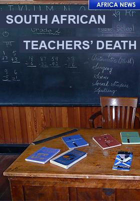 SA CORONA VIRUS TEACHER DEATHS