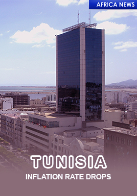 TUNISIA INFLATION DROP
