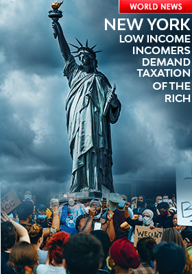 USA PROTEST WEALTH TAX