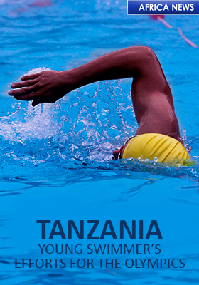 TANZANIA TOKYO OLYMPICS SWIMMER