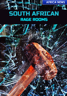 SOUTH AFRICA CORONA VIRUS RAGE ROOMS