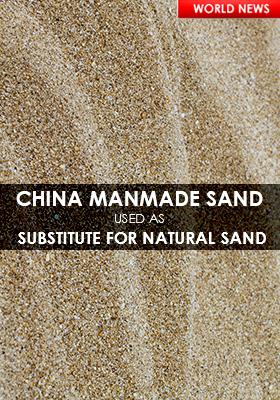 CHINA MANMADE SANDS
