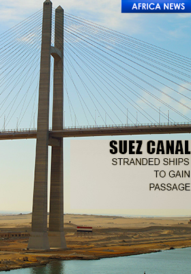 SUEZ CANAL -SHIPS TO GAIN ACCESS