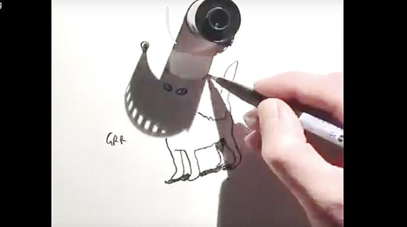 Konst och skuggor
