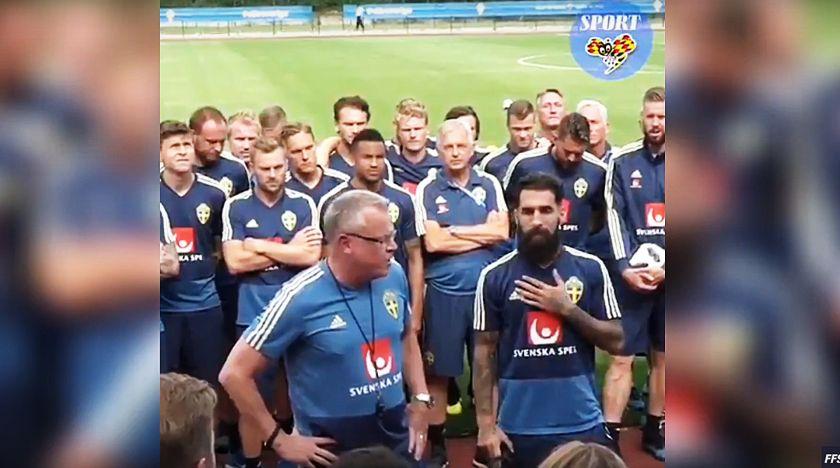Durmaz och hela landslaget sätter ned foten