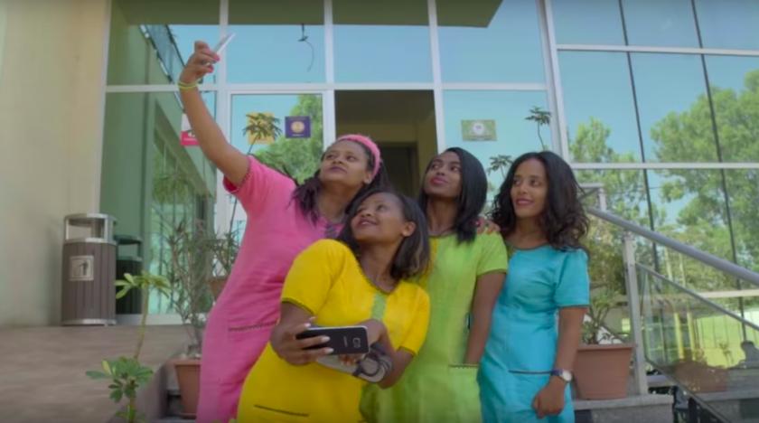 Bandet Yegna tar girl power till Etiopien