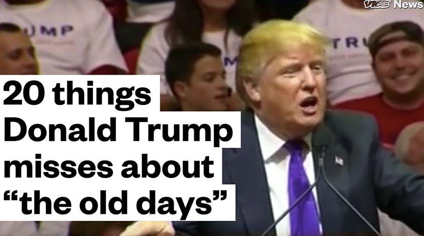 Trump saknar