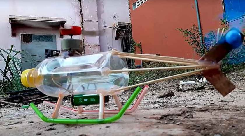 How to make an Electric helicopter motor