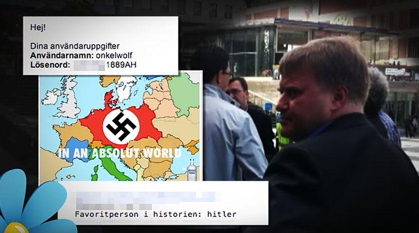 Hitler-mejlen avslöjar SD:s försvarsexpert