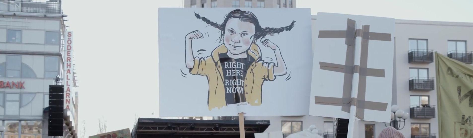 Greta Thunberg: Vi vill inte höra fler tomma ord