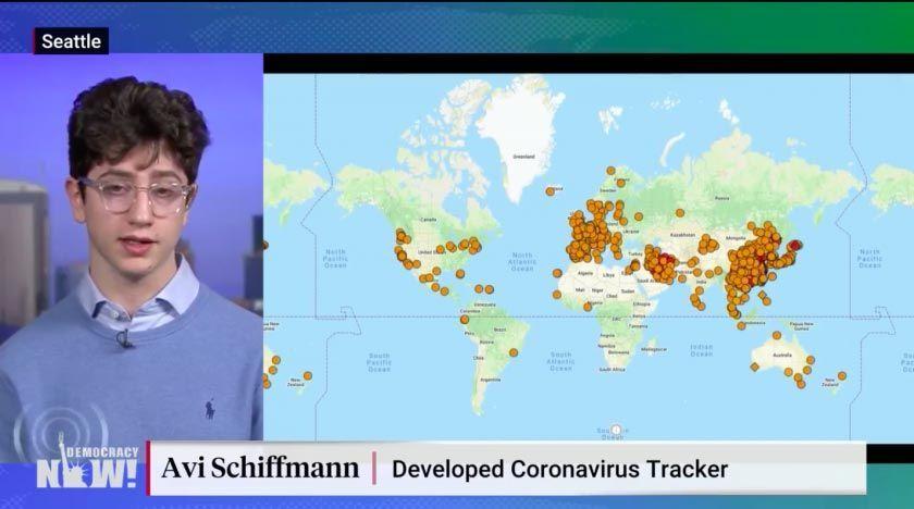 17-åring kartlägger coronaviruset