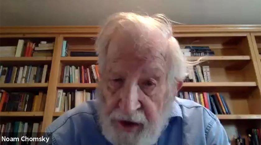 Noam Chomsky om vad som står på spel under coronakrisen