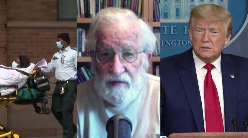 Noam Chomsky om Trump, Bernie Sanders & vad som ger honom hopp