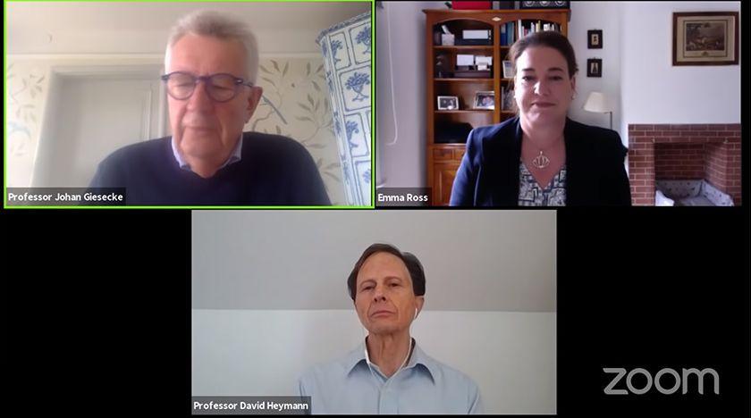 Professorer samtalar om den svenska corona-strategin