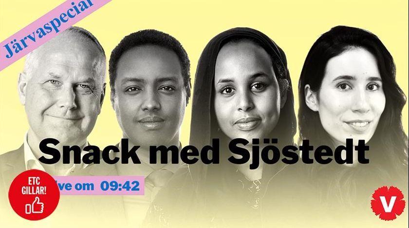 Snack med Sjöstedt – Järvaspecial