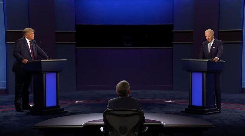 Första presidentdebatten