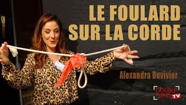 Le foulard sur la corde