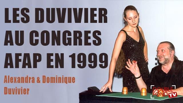 Les Duvivier au Congrès AFAP en 1999