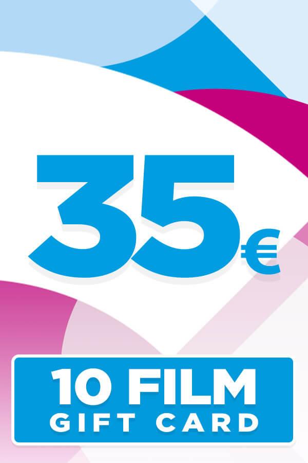 Gift Card da 35 Euro per 10 Film